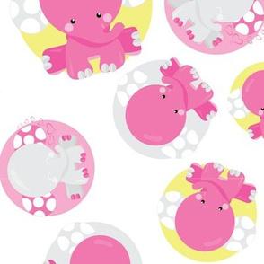Dreamy Pink Elephant 05
