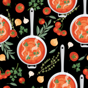 Let's Eat, Black - Tomato Soup