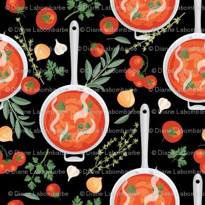 Let's Eat, Black - Tomato Soup