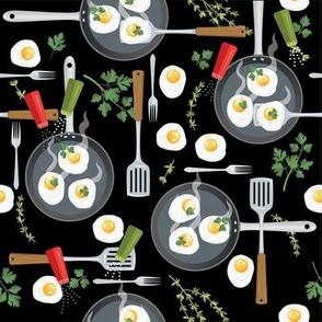 Let's Eat, Black - Breakfast