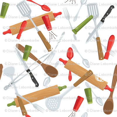 Let's Eat, White - Utensils & Gadgets