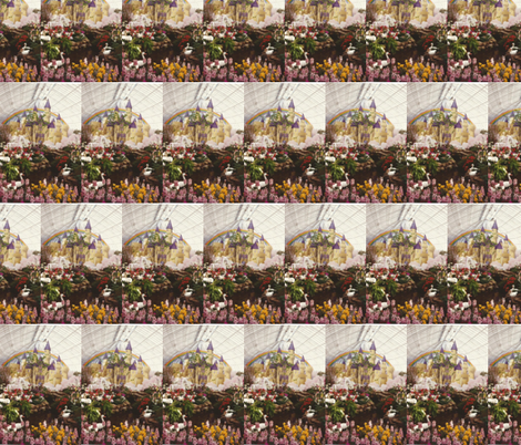 castle fabric by abcbrentwoodgifts on Spoonflower - custom fabric