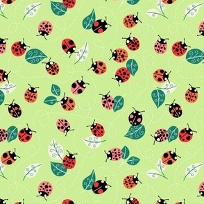 lady birds green