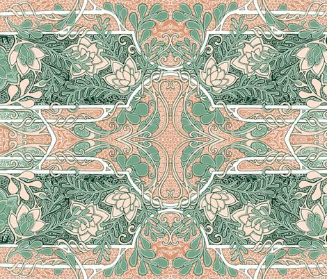 My New Desert Home fabric by edsel2084 on Spoonflower - custom fabric
