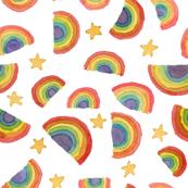 Rainbow Power - White