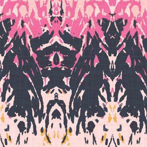 Girl Tribe - pink & navy