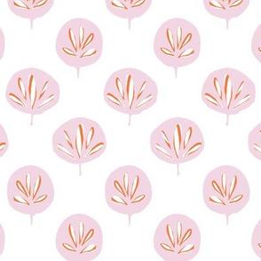 Fan Leaf - Pink