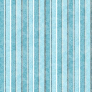 Stripes Faded Teal 225