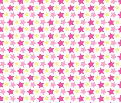 Dreamy Pink Elephant 11 fabric by prettygrafik on Spoonflower - custom fabric