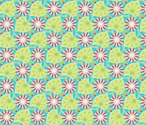 wlilies fabric by hannafate on Spoonflower - custom fabric