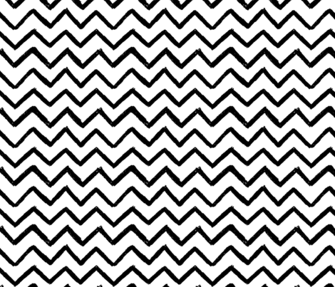 Painted Chevron Stripe fabric by bebe_berd on Spoonflower - custom fabric