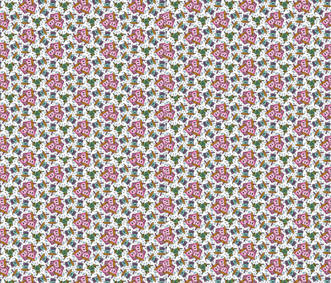 Boozy Boba fabric by the_wookiee_workshop on Spoonflower - custom fabric