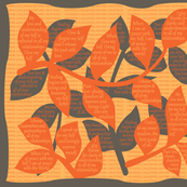 LEAF-GPWA Golden Poppy / Warm Apricot