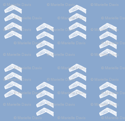 Light Blue Tribal Arrows