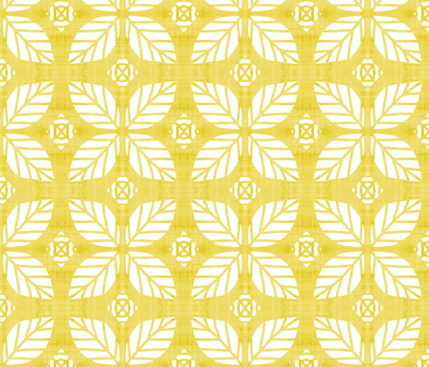 Lemon Energy  fabric by franbail on Spoonflower - custom fabric
