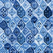 Moroccan tiles indigo