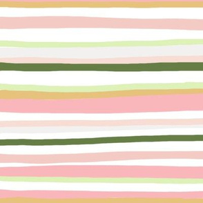 Blush stripe