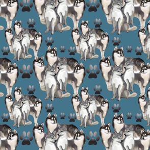Alaskan Klee Klai fabric