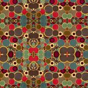 mid-century modern vintage circles