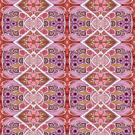 Some Flowery Morning fabric by edsel2084 on Spoonflower - custom fabric