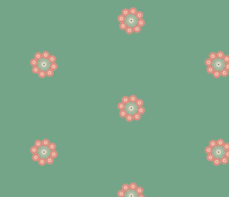 Hen&Chicks fabric by suzy_q_designs_studio on Spoonflower - custom fabric