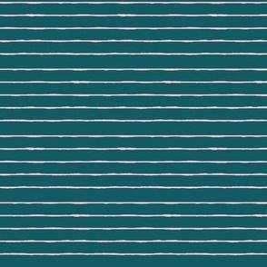 teal/pink mini stripe