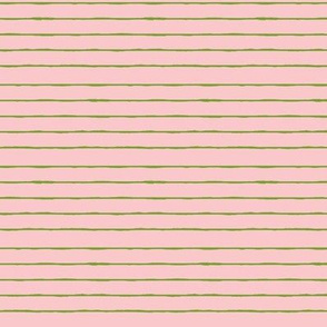 pink/bright green mini stripe