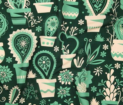 Paisley succulents