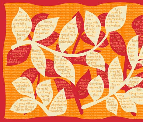 LEAF-AOAG Almond Oil / Autumn Glory fabric by darrell_fleury on Spoonflower - custom fabric