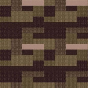 brown pixels