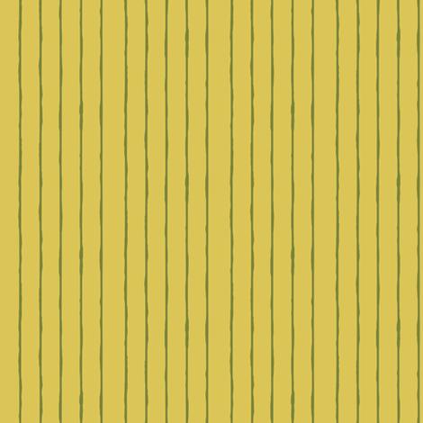 yellow/green mini stripe - vertical fabric by ali*b on Spoonflower - custom fabric