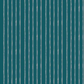 teal/pink mini stripe - vertical
