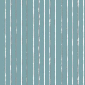 swim lane stripe in pool blue-vertical