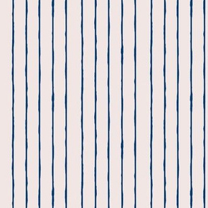 swim lane stripe in sunbleached pink/navy blue-vertical