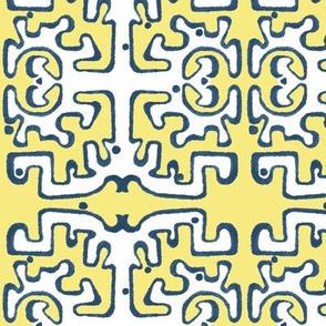 CARIBBEAN BREEZES - Soft Yellow