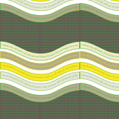 WAVE-CGBG Classic Green / Bungee Cord