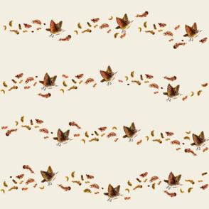 Little Autumn Wren on Crema