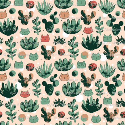 Succulents_trace_pattern