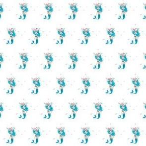 """1"""" Blue Mermaid"""