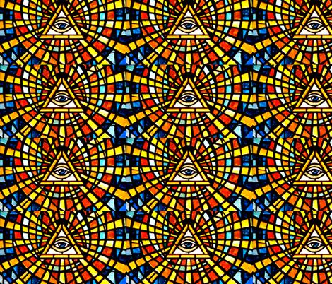 Illuminati Freemasons all seeing eyes providence triangles