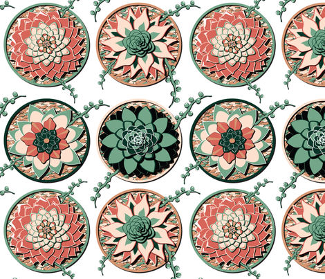Suc's N' Pot's fabric by everhigh on Spoonflower - custom fabric