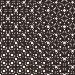 Retro Party Black Filligree