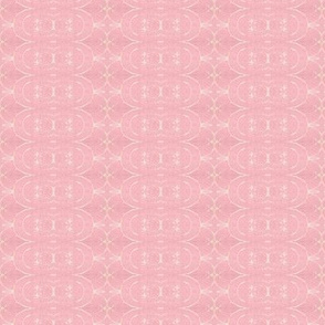 Retro Party Pink with White Filligree
