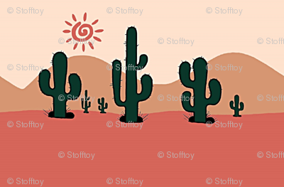 succulents in the desert