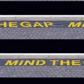mind the gap in london underground