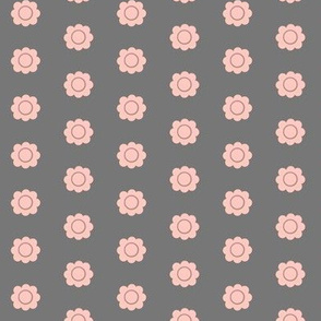 Pokey Little Hedgehog - small flowers