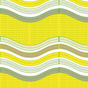 WAVE-LGBY Lime Green / Blazing Yellow
