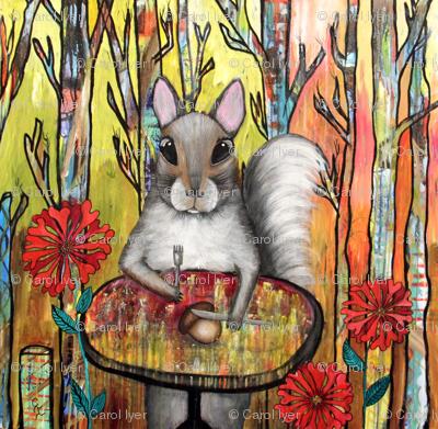 Squirrel on Diet