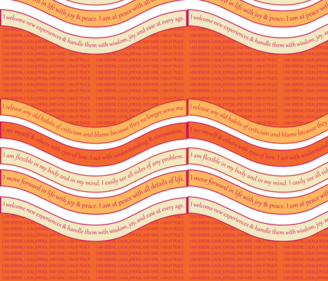 WAVE-VPGP Virtual Pink / Golden Poppy fabric by darrell_fleury on Spoonflower - custom fabric