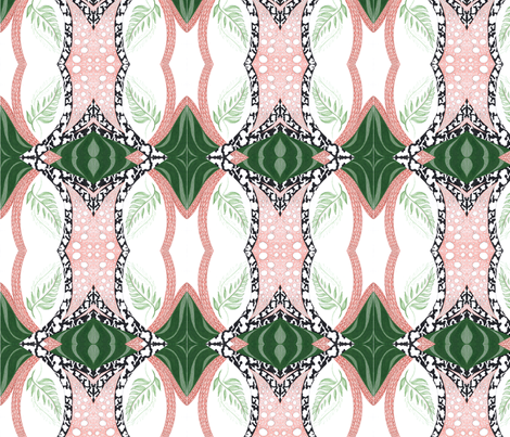 overgrown fabric by yaboo on Spoonflower - custom fabric